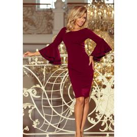 188-3 CARMEN ruha spanyol ujjú - bordó színű