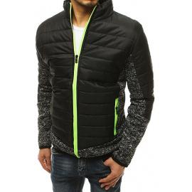 Fekete férfi kabát TX3578