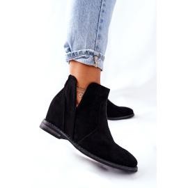 Boots On The Wedge S.Barski Joiva Black
