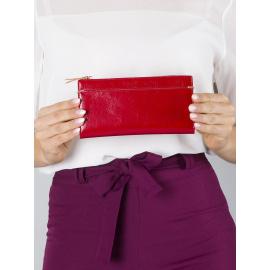 <p><strong>Piros puha női pénztárca</strong>