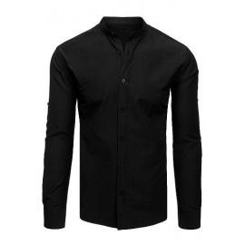 Elegáns fekete férfi ing DX1870