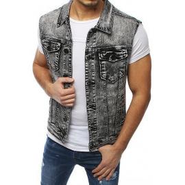 Gray men's vest TX3230