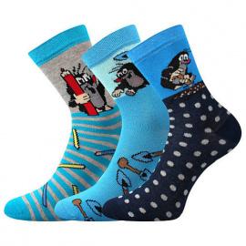 3PACK gyermek zokni Boma blue (2. keverék)