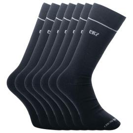 7PACK zokni CR7 bambusz fekete (8184-80-09)