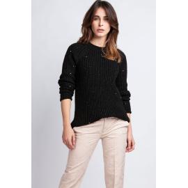 Kriss pulóver SWE 076 fekete