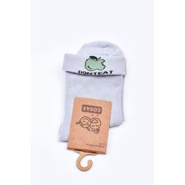 Children's Cotton Socks With Apple COSAS Blue