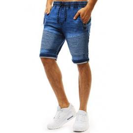 Férfi farmer kinézetű kék rövidnadrág SX0955