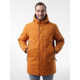 NAKIO férfi télikabát sárga