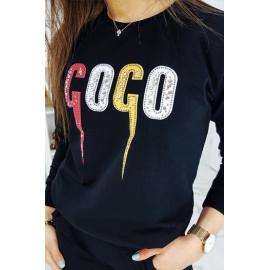 COCO női fekete sportruha AY0210