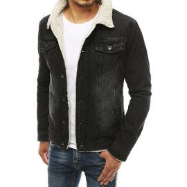 Black men's denim jacket TX3349