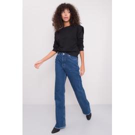 BSL Niebieskie spodnie jeansowe