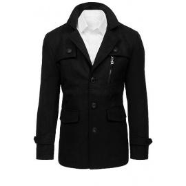Férfi fekete kabát CX0410