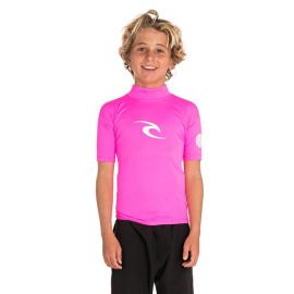 Lykra Rip Curl JNR.CORPO S / SL UV TEE Hot Pink