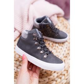 Children's Boy's Shoes Sneakers Big Star Grey EE374040