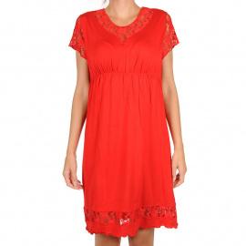 Női hálóing Cocoon Secret piros (COC5014-KG)