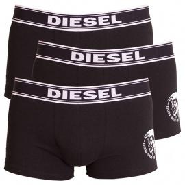 3PACK férfi boxerek Diesel fekete (00SAB2-0TANL-01)