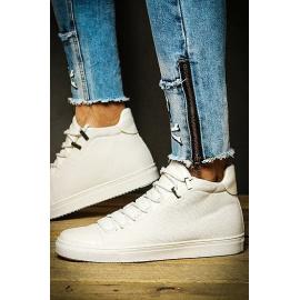 Fehér férfi cipők ZX0125