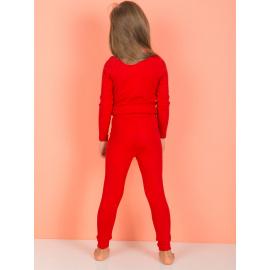 Piros nadrág lányoknak